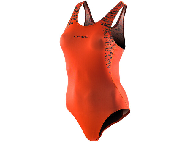 ORCA Core One Piece Swimsuit Women, high vis orange